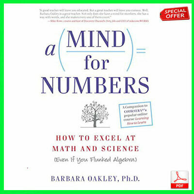 "A Mind For Numbers: How to Excel at Math and Science (pdf) ""EB00K"""