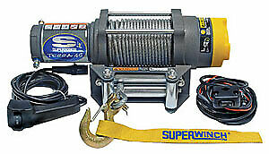 Super Winch ATV 4500-4500# Winch w/ Roller Fairlead