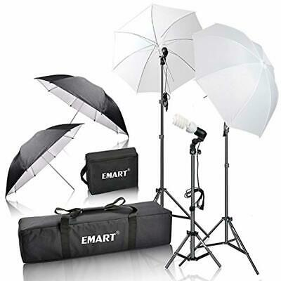 Emart 600W Photography Photo Video Portrait Studio Day Light Umbrella Continuous