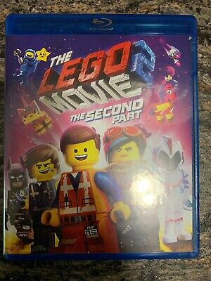 The Lego Movie 2 The Second Part (Blu-ray and DVD, 2019) No Digital