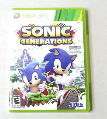 SONIC GENERATIONS SONIC The Hedgehog Commemorative Statue by