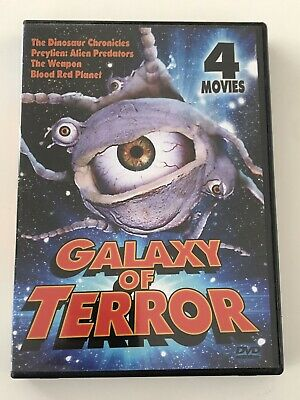 Galaxy of Terror, 4 cheesy sci-fi films B-movies, DVD set