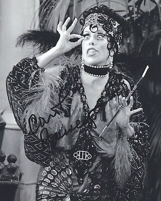 CAROL BURNETT signed RARE PROMO photo - REAL/OBTAINED IN-PERSON/EXACT PIC PROOF