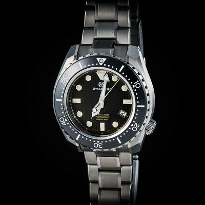 purchase cheap 36777 7a698 GRAND SEIKO MECHANICAL HI-BEAT 36000 DIVER SBGH255 in Hi-Intensity  Titanium.Mint