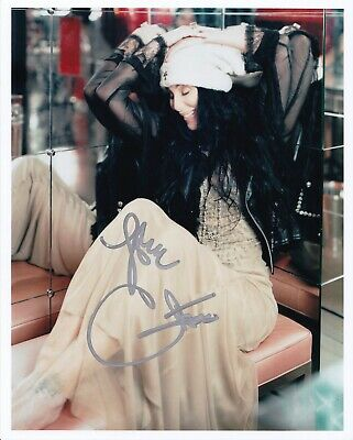 CHER signed/autographed SEXY PROMO photo - REAL/OBTAINED IN-PERSON