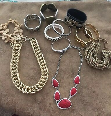 Costume Jewellery Mixed Lot Necklaces T2