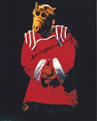Tiny Actor MIHALY 'MICHU' MESZAROS signed ALF photo  PIC PROOF! FROM SIGNING!