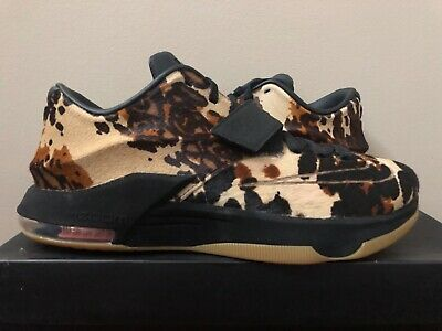 new arrival f90c3 4cb90 NIKE KD 7 VII EXT QS Longhorn State 716654-001 Size 10.5 100% Authentic