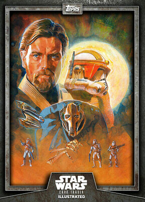 Topps Star Wars Card Trader Illustrated 2019 W3 #2 GRAY Revenge of the Sith CTI