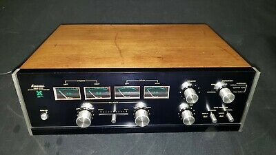 Sansui QS-1 Solid State 4-Channel Quadraphonic Synthesizer - CLEAN and TESTED