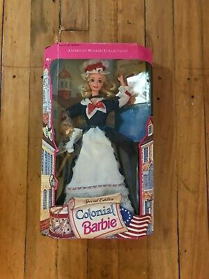 1994 Colonial Barbie American Stories Collection Special Edition -  MIB NRFB !