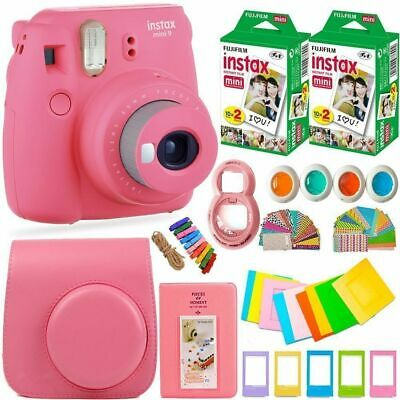 Fujifilm Instax Mini 9 Camera+20 Sheets Film+Case+Album+Filter+Lens+Gift Set #2