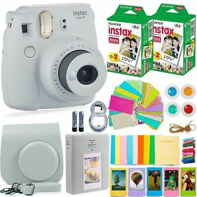 Fujifilm Instax Mini 9 Camera+20 Sheets Film+Case+Album+Filter+Lens+Gift Set #4