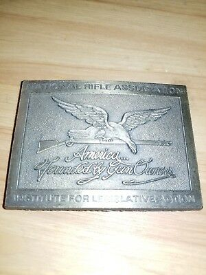 American Founded By Gun Owners Belt Buckle