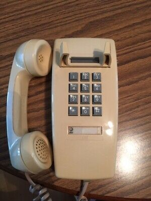 Vintage AT&T Wall mount push button telephone