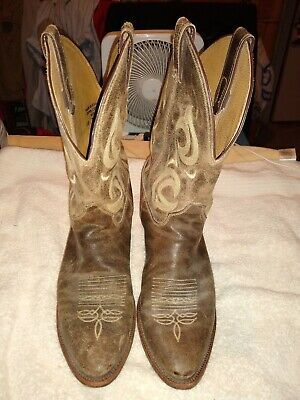 7e4a133bfc3 JUSTIN MEN'S BOOTS Bent Rail Western Boot Size 13 D Style BR733 ...