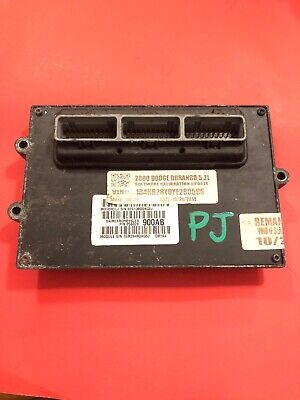 2000 Dodge Durango 5.2L V8 Engine Computer ECM ECU PCM 56028900 or 56028901