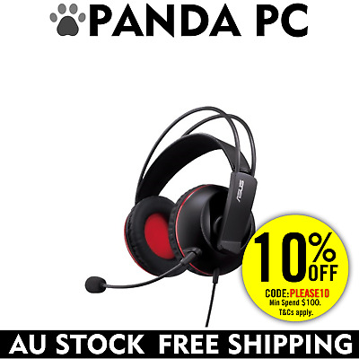 ASUS CERBERUS CYBER CAFE Gaming Headset 3.5mm Audio/Mic Combo - PS4 Compatible