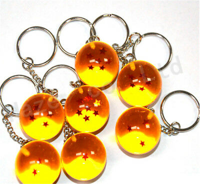 Anime Cartoon Dragon Ball 2.7 cm Resina Auto Clave Cadenas Llavero Clave Hebilla