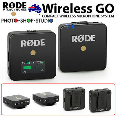 AU STOCK* Rode Wireless GO Compact Wireless Microphone
