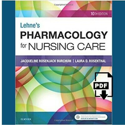 Pharmacology for Nursing Care 10th ed. Test banks