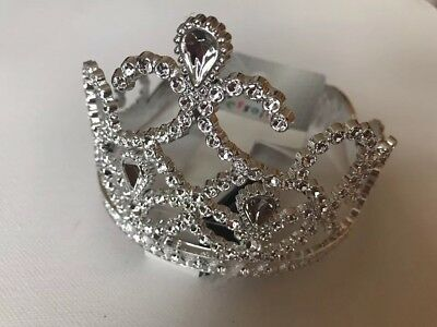 Girls Bundle Of 5 Plastic Tiaras BNWT