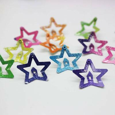 Hair Clips Snaps For Girls Baby Kids Head Accessories 12Pcs/set Star Butterfly