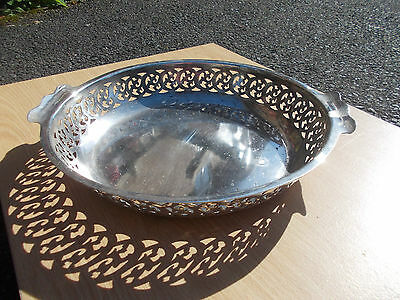 Antique Walker & Hall A1 Silver Plate Bowl