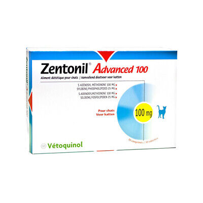 Zentonil Advanced - 100 mg pour Chat (30 Cps)
