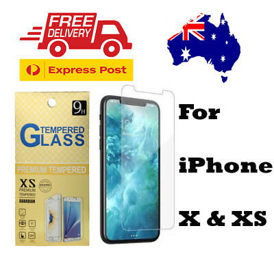 Scratch Resist Tempered Glass Screen Protector Guard H9 for Apple Iphone X/XS