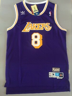 5cba84f2da4 Kobe Bryant LA Lakers Hardwood Classics  8 Men s Swingman Jersey Purple  S-XXL
