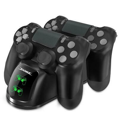 Dobe PS4 Controller Charger, Dual Shock 4 Charging Docking Station with LED...