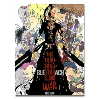 Bleach Dead Rukia Ichigo Anime Canvas Posters Art Prints 8x11 24x32 inch