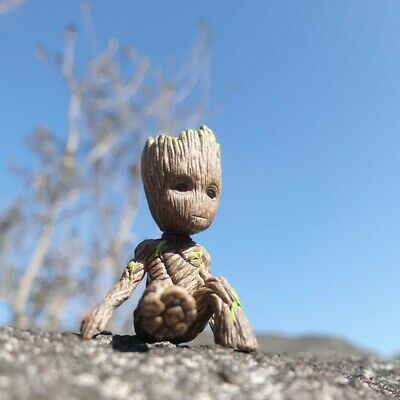 6.5cm Cute Guardians of The Galaxy Vol.2 Baby Groot Action Figure Toy Gift Decor