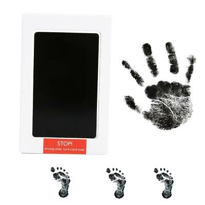 Newborn Baby Handprint Footprint Pad Safe Clean Non Toxic Clean Touch Ink P K8T3
