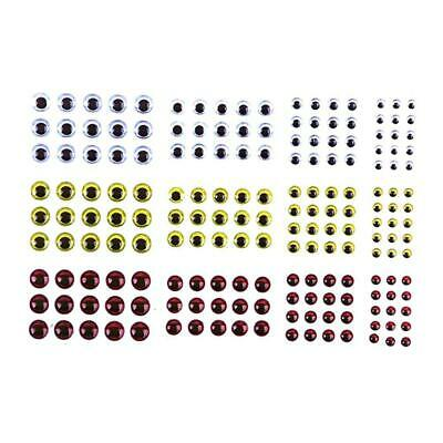 183pc Fish Eye 2D 3D Holographic Lure Fish Eyes Fly Tying Jigs Crafts Re F8C7