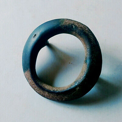 Ancient Celtic Bronze Proto Money Currency Ring Very Rare Type Circa 500 BC