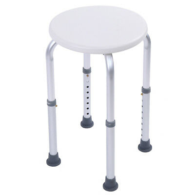 Height Adjustable Medical Round Shower Bath Chair Bench Bath Seat Aid Stool