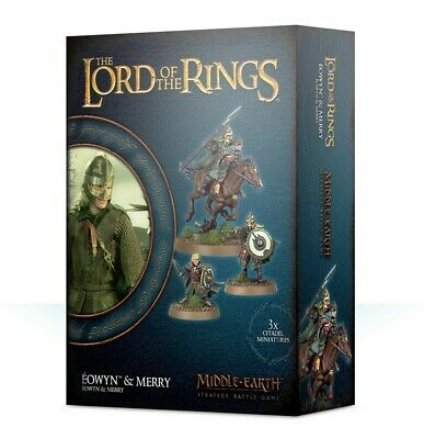 Eowyn & Merry Games WorkshopMiddle-earth Strategy Battle Lord of the Rings New