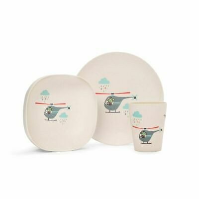 Penny Scallan Bamboo Meal Set Space Monkey