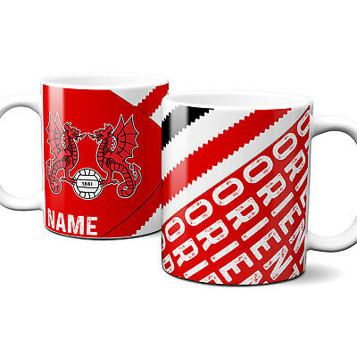 Personalised Leyton Orient Football Mug Retro Fathers Day Cup Dad Gift RFM30