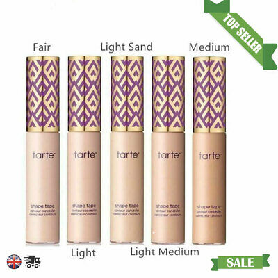 Tarte Shape Tape Concealer Contour 10Ml - Shade Fair Light Medium Light Sand Uk