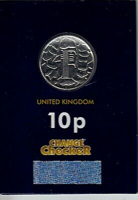 """2018 Alphabet 10p Coin Letter F -""""FISH & CHIPS"""" - Brilliant Uncirculated"""