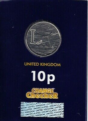 """2018 Alphabet 10p Coin Letter L -""""LOCH NESS MONSTER"""" - Brilliant Uncirculated"""