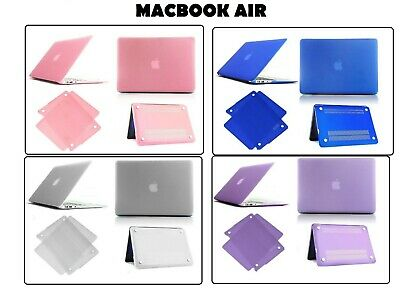 "Crystal Case Hardshell Hard Case Cover For Apple Macbook Air 11.6""/13.3"" Inch"