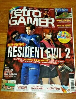 Retro Gamer Magazine 2019 Issue # 190 Original Resident Evil 2