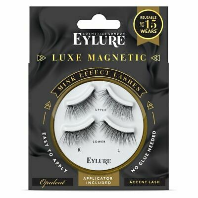 7d0e6a42a2d EYLURE LUXE LASH Solitaire Bauble Cameo Luxury Reusable Natural Look ...