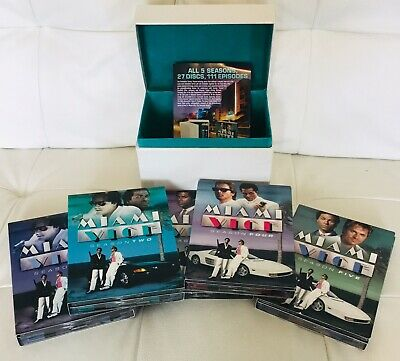 Miami Vice The Complete Series DVD (Mint Condition Seasons 1 - 5)