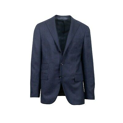 Suits & Suit Separates Official Website Nwt Raffaele Caruso Stunning Suit 44 Flannel Navy Blue Deconstructed Men's Clothing