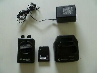 Motorola Minitor V Stored Voice 45-48.9 MHz Low Band Fire EMS Pager g203
